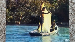 CPSM HAITI PECHEURS FISHER MEN IRIS 6595 - Ansichtskarten