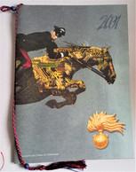 CARABINIERI CALENDARIO  2001 Completo  (230513) - Calendari