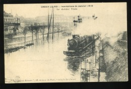 94 Val De Marne  Choisy Le Roi  Le Dernier Train Inondations De Janvier 1910 Imprimeries Réunies - Choisy Le Roi