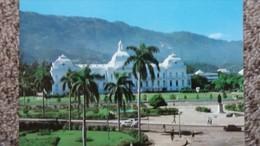 CPSM HAITI PORT AU PRINCE THE PRESIDENTIAL PALACE PHOTO JIRI ? 1 - Ansichtskarten