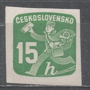 Czechoslovakia 1945, Scott #P29 Newspaper Delivery Boy (M) - Timbres Pour Journaux