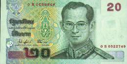 Thailand, 20 Baht, Pick 109 Sign. 74, Replacement ( S ) UNC ! - Thailand