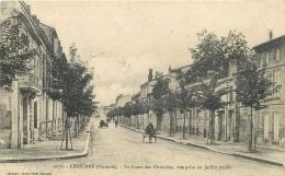 33-2183 CPA  LIBOURNE  Le Cours Des Girondins Vue Prise Du Jardin Public - Libourne