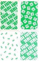 4 Dos De Cartes BBL - Cartes à Jouer Classiques