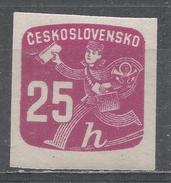 Czechoslovakia 1945, Scott #P31 Newspaper Delivery Boy (M) - Timbres Pour Journaux