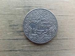 Maroc  1   Franc  1921  Y 36 - Maroc