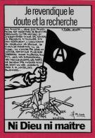CPM LARDIE Jihel Tirage Signé Numéroté En 100 Exemplaires Anarchie Anarchiste Maçonnique - Evènements