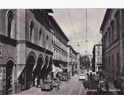 Cpa-ita- Bologna --via Garibaldi-edi Cartovendita N°127 - Bologna