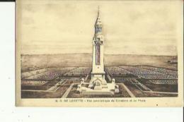Notre-Dame De Lorette  62   Vue Panoramique Du Cimetière Et Du Phare - Altri Comuni