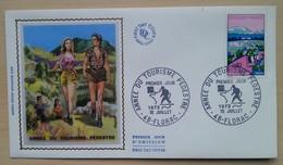 FDC 1972 - YT N°1723 - ANNEE DU TOURISME PEDESTRE - FLORAC - 1970-1979