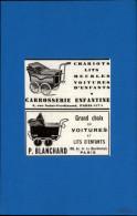 ENFANTS - LANDAUS - Landau - Publicité Issue D´une Revue De 1934 Et Collée Sur Feuillet - Nourrice - Publicités