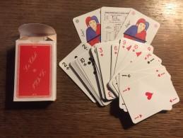 Jeu De 52 Cartes +  2 Jokers : Le Club Grands Ecrivains : Rimbaud, Ségur, Sand, Baudelaire, Verlaine, Musset, Hugo, ... - Speelkaarten