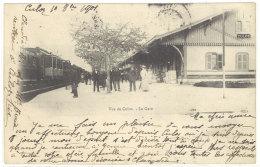 Cpa Ain - Vue De Culoz - La Gare      ((S.1368)) - France