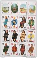 Jeu De 52 Cartes +  2 Jokers : Grand Livre Du Mois  : Camus, Ségur, Balzac, Zola, Sand, Voltaire, La Fontaine, Sévigné, - Speelkaarten