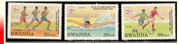 Rwanda 1396/98** Jeux Olympiques De Barcelone MNH - Rwanda