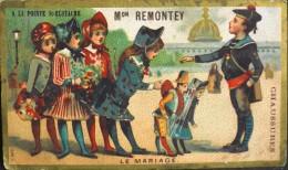 Chromo & Image - Magasin A LA POINTE St-EUSTACHE Chaussures ; 1 Rue Turbigo PARIS - Le Mariage - En TB. état - Other