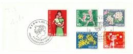 Schweiz/Suisse: Pro Juventute 1912-1962, 2 Scans - Pro Juventute