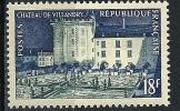 "Yt 995 "" Chateau De Villandry "" 1954 Neuf **"