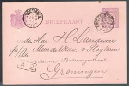 Nederland, 1892, For Groningen - Periode 1891-1948 (Wilhelmina)