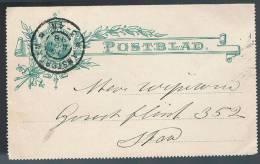 Nederland, 1898, Postblad - Periode 1891-1948 (Wilhelmina)