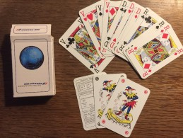 Jeu De 52 Cartes +  2 Jokers : Air France - Cartes à Jouer Classiques