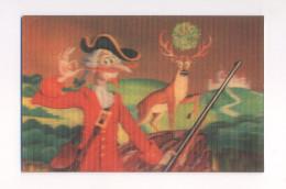 USSR 3D Stereo Stereoscope Calendar Soviet Cartoon Animated Film Baron Munchausen - Calendari