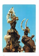 BENIN -Danseurs De  NIAMTOUGOU - Cpsm Avec Beau Timbre Neuf Au Verso - Scans Recto Verso- Paypal Sans Frais - Benin