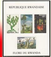 Rwanda BL 109** ND Flore Du Rwanda MNH - Rwanda