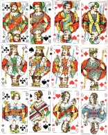 Jeu Allemand De 32 Cartes : F.X. Schmid Munchen Deutschland - Speelkaarten