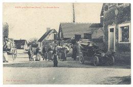 Cpa Nézé , Près Mézières - La Grande Route ( Automobile )    ((S.1391)) - France