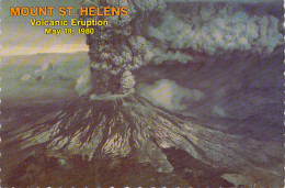 ETATS UNIS- ( Skamania) MOUNT ST HELENS Volcanic Eruption May 18,1980 (volcan Volcano)(photo Jack Leffler)*PRIX FIXE - United States