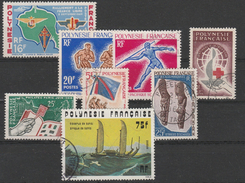 LOT 102 POLYNESIE PA N° 8 + POSTES N° 22-23-24-26-29-56-113 Oblitérés - Polynésie Française