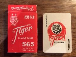 Jeu De 52 Cartes +  Jokers : Tiger Brand China 565 NEUF SOUS CELLOPHANE ! - Cartes à Jouer Classiques