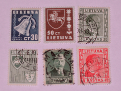 LITUANIE  1934-40  LOT # 7 - Lituanie