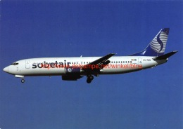 Boeing 737-408 Sobelair - 1946-....: Era Moderna