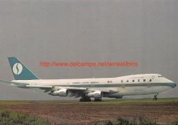 Boeing 747-129 Sabena - 1946-....: Era Moderna