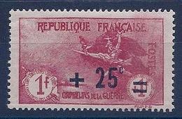 FRANCE - 168  ORPHELINS 2EME SERIE NEUF** MNH SANS DEFAUT COTE 70 EURO - France