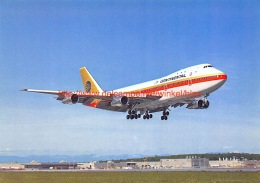 Boeing 747 Continental Airlines - 1946-....: Moderne