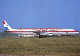 Douglas/McDonnell DC-8 Lineas Aereas Paraguayas - 1946-....: Moderne
