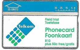 @+ TC D´Afrique Du Sud - TEST TELKOM L&G 35U (207A) Neuve - Ref : SAF-TO-02 - Afrique Du Sud