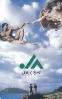 TARJETA DE JAPON DE MICHEL ANGELO DE 50 UNITS (110-015) - Japón