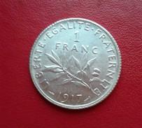 1 Franc Semeuse 1917 ARGENT - France