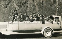 AUTOCAR(LOURDES) CARTE PHOTO - Bus & Autocars