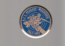 Pin´s  - TIR  - A.C.S PEUGEOT MULHOUSE - 1967 / 1992 - Pin