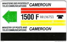 CAMEROUN FIRST CARD 1500F UT - Cameroun