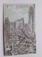 Intérieur De L'Eglise ( Ruines ) Kemmel / Anno 19?? ( Details Zie Foto´s ) !! - Heuvelland