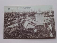 Le Cimetière Dévasté ( Ruines ) Kemmel / Anno 19?? ( Details Zie Foto´s ) !! - Heuvelland