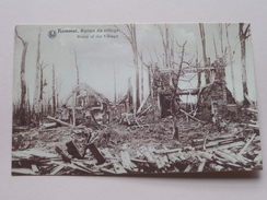 Ruines De Village Kemmel / Anno 19?? ( Details Zie Foto´s ) !! - Heuvelland