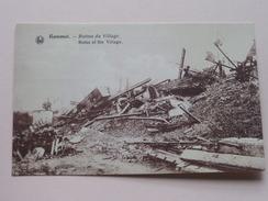 Ruines Du Village Kemmel / Anno 19?? ( Details Zie Foto´s ) !! - Heuvelland