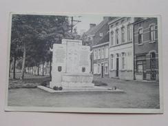 Monument ( Arch. Wilfrid Rooms - Beeld. A. De Beule ) Anno 19?3 ( Details Zie Foto´s ) !! - Kaprijke